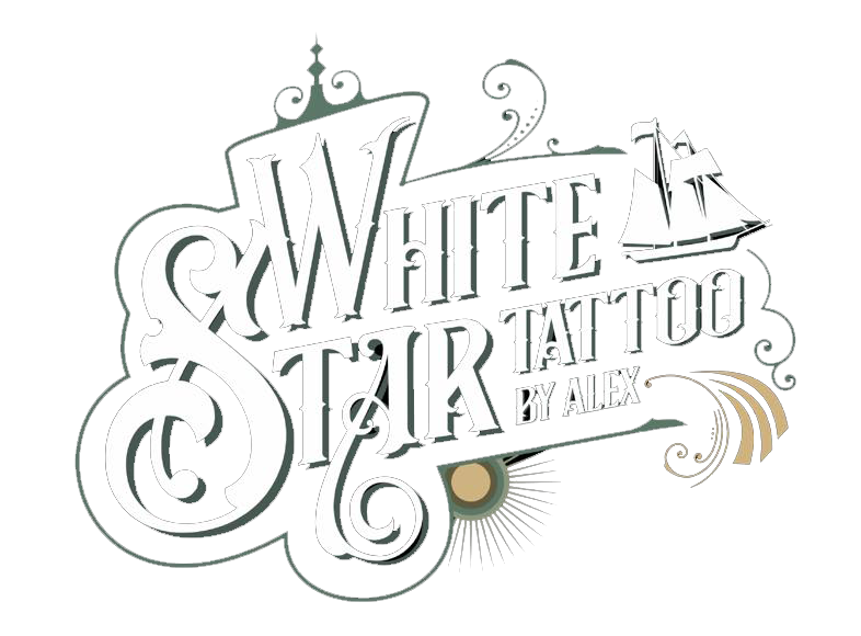 WHITE STAR TATTOO